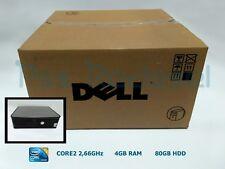 Ordenador Sobremesa DELL 755DT CORE2 4GB 80GB DVD