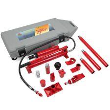 10 Ton Porta Power Hydraulic Jack Body Frame Repair Kit Auto Shop 2 Wheels Lift