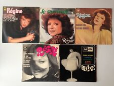 LOT DISQUES 45T SPECIAL REGINE