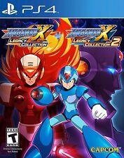 Sony PS4 Playstation 4 Spiel Megaman X Legacy Collection 1 & 2 Mega Man 1+2 NEU