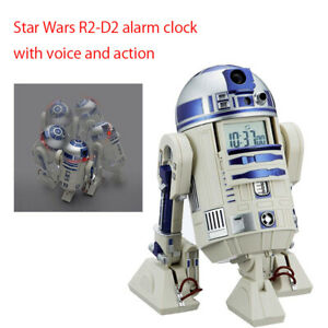 Star Wars R2-D2 alarm clock with voice and action japan model 2021y