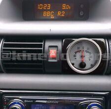Vauxhall Astra G Air Vent Gauge Pod adapter Gloss black ABS plastic