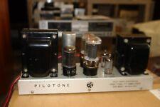 PILOT / PILOTONE Model AA-410A 6L6 tube Power Amplifier **Original working **