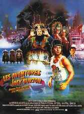 Big Trouble In Little China Poster 03 A2 Box Canvas Print