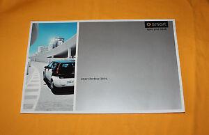 Smart Forfour 2004 Prospekt Brochure Depliant Catalog Folder Prospect