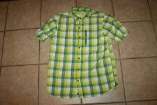 Mens Columbia Short Sleeve Shirt size large
