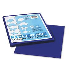 Pacon Tru-Ray Construction Paper,  9 x 12, Royal Blue, 50 Sheets/Pack, PK - PAC1