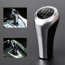 Silver&Black 5 Speed MT Manual Gear Shift Knob for BMW E82/83/84 E90/91 E60/63
