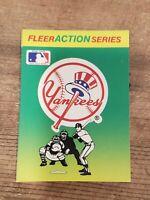 Vintage 80s New York Yankees Sticker baseball card