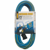 Prime Wire & Cable KC506725 25-Foot 14/3 SJTW Outdoor Extension Cord