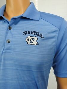 Champion UNC University North Carolina Tar Heels Golf Polo Shirt Sz S