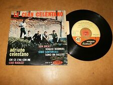 LE CLAN CELENTANO  - EP FRENCH VOGUE 95133  / LISTEN - ITALIAN POPCORN