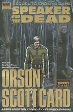 Speaker for the Dead by Aaron Johnston (2011, Hardcover) Marvel