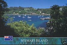 Postkarte: Halfmoon Bay, Stewart Island, Neuseeland