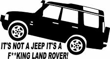 Fun Land Rover Discovery 4x4 off Road Sticker #1