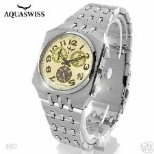 AQUASWISS Chronograph NIB Gents Swiss Movement Watch