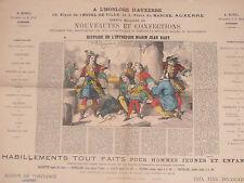 Affiche confection a L'HORLOGE D'AUXERRE Yonne 89