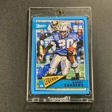 BARRY SANDERS 2018 PANINI CLASSICS #128 TIMELESS TRIBUTES BLUE PARALLEL #'D /10