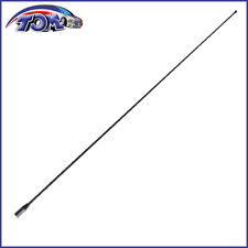 "2006-2013 Cadillac Escalade EXT 13/"" Black Stainless AM FM Antenna Mast FITS"
