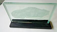 Tony Stewart Home Depot Etched Glass Display
