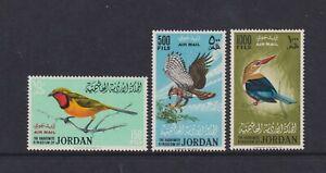 Jordan - 1964, Air. Birds set - MNH - SG 627/9