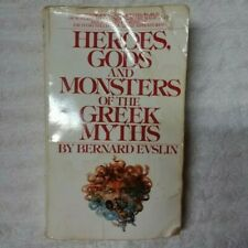 Heroes, Gods and Monsters of the Greek Myths by Bernard Evslin (1984, Mmp)