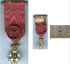 Médaille - Légion d'honneur Napoléon III or réduction h=23,5mm SUPE