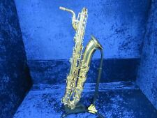 Olds Low A Baritone Saxophone Ser#4017027 Looks Great and a Great Player too!