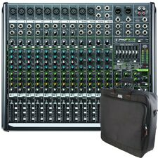 Mackie ProFX16v2 16-Channel 4-Bus PA Mixer + Gator Padded Equipment Carry Bag