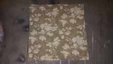"""Restoration Hardware """"Antiqued Taupe/Flax Floral"""" Euro Pillow Sham"""