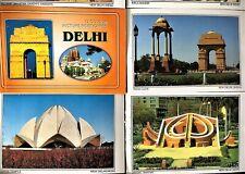 LOT - 11 PIECE INDIA - NEW DELHI COLOR PICTURE POSTCARDS (NEW)