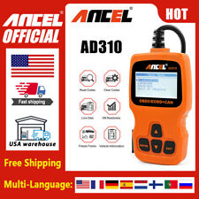 Ancel AD310 OBDII/2 Scanner Diagnostic Tool Car Check Engine Code Reader New