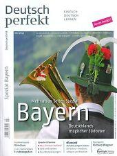 Deutsch perfekt - Ausgabe Mai 05/2013 - Einfach Deutsch Lernen,  +++ wie neu +++
