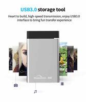 "500GB Portable External HDD USB 3.0 HDD 2.5"" HD Drive Disk for Desktop Laptop"
