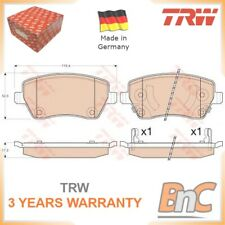 FRONT DISC BRAKE PAD SET FOR NISSAN MICRA IV K13 NOTE E12 TRW OEM D10FM1HA0A HD