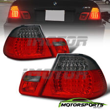 2000 2001 2002 2003 BMW E46 325Ci/330Ci/M3 Coupe Red Smoke LED Tail Lights Pair