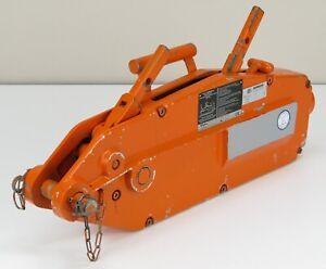 Wadra 832 Cable Trac / Greifzug / Seilzug, Zugkraft 3200 KG