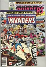 Invaders #14 and #15 FN 1976 The Crusaders