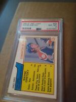 Wayne Gretzky 1983 PSA NM-MT 8 O-PEE-CHEE Goal leaders Edmonton Oilers