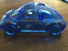 Volkswagen Vw Beetle Penpencil Holder Recyclable Clear Blue 45 X 2 X 2