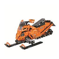 Building Blocks Winner City Series Snowmobile Kids Toys Figure Gifts DIY 965PCS