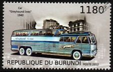 1949 GREYHOUND LINES GX-2 (Prototype PD4501 SCENICRUISER) Bus Stamp (2012)
