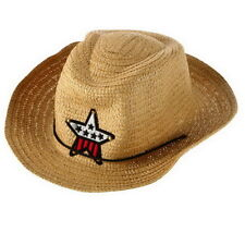 Cute Baby Kids Children Boys Girls Straw Western Cowboy Sun Hat Cap Gift W@