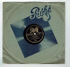 78 Rpm 25cm M.Jovatti Disk Turntable Sung Thrill -soul Violins -pathe 94349