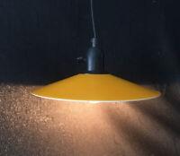 Vintage Hängeleuchte orange GNOSJÖ Konstsmide Schweden 70er Design midcentury
