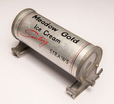 Soda fountain Candy Shop Straw Dispenser - Meadow Gold Ice Cream - ULTRA RARE