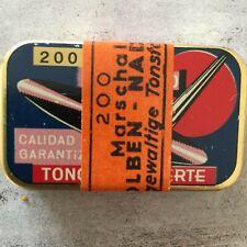 Grammophon-Nadeldose: Kolben-Nadeln, originalverpackt, mit Banderole