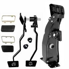 1965~1966 Mustang Brake Clutch Pedal & Support Bracket Set w/Bushing Pad Trim