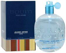 Boum for Men by Jeanne Arthes 3.3 oz 100 ml EDT Eau de Toilette Spray SEALED BOX
