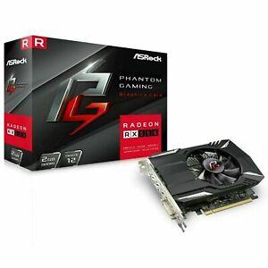ASRock Phantom Gaming Radeon RX550 2GB Graphics Card - PCIe 3.0, GDDR5 128bit